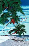 026 Palm Trees Beach towels