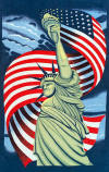 045 Statue of liberty towel