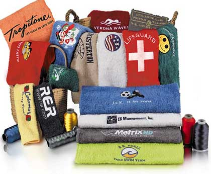 Custom Embroidery Towels